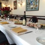 Private dining room at La Perla an Italian Restaurants in Washington DC