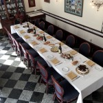 La Perla's private dining room can seat 20 guests with custom menus