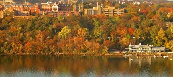 Georgetown Riverfront in Washington DC